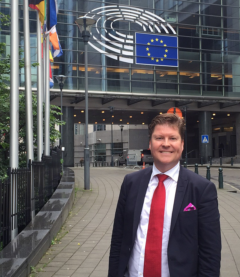 Rickard Ydrenäs - specialist inom European affairs & Public affairs